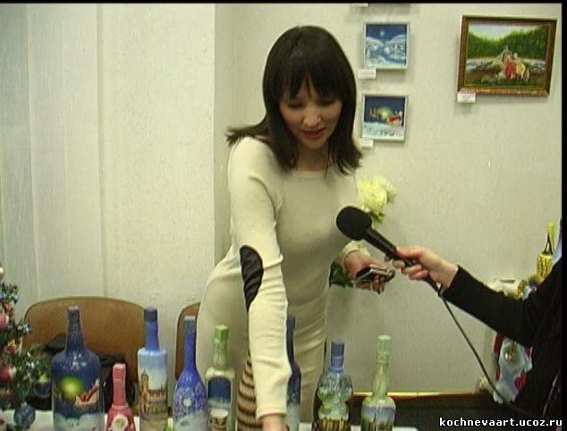 Новогодняя выставка- ярмарка с участием моих работ.  Украина.  Николаев.